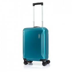 حقيبة هايبر بيت الصلبة 55 سم من أمريكان توريستر - ازرق فاتح