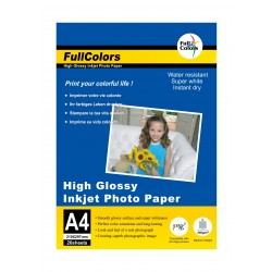 Fullcolors High Glossy A4 240Gsm Photo Paper - 20 Sheets