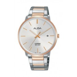 Alba Quartz 40mm Analog Gent's Metal Watch - AS9G60X1