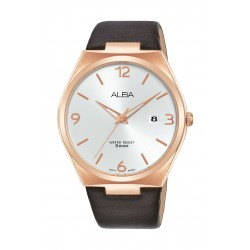 Alba 41mm Men's Analog Casual Leater Watch - (AS9H88X1)