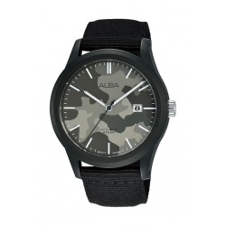 Alba 42mm Gent's Analog Silicon Sports Watch - (AS9K33X1)