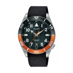 Alba 40mm Gents Analog Fashion nylon Watch Sport - (AS9K45X1)