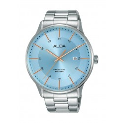 Alba 44mm Gent's Metal Analog Casual Watch - AS9K97X1