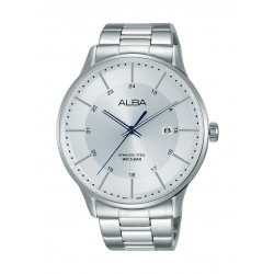 Alba 44mm Gent's Metal Analog Casual Watch - AS9L01X1