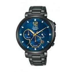 Alba Quartz 44mm Chronograph Gent's Metal Watch - AT3E21X1