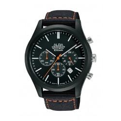 Alba 44mm Gent's Chronograph Nylon Sports Watch - (AT3G43X1)