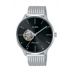 Alba Gents Casual Analog 42.5mm Metal Watch (AU7015X1) - Silver