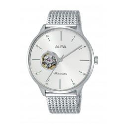 Alba Gents Casual Analog 42.5mm Metal Watch (AU7017X1) - Silver