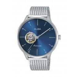 Alba Gents Casual Analog 42.5mm Metal Watch (AU7019X1) - Silver