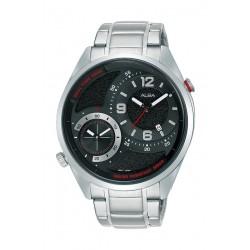 Alba 43mm Gent's Analog Dual Time Metal Watch - (AZ9019X1)