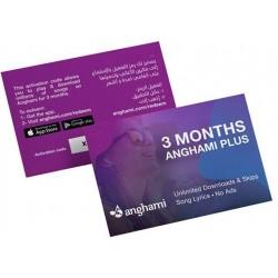 Anghami 3 Months Voucher