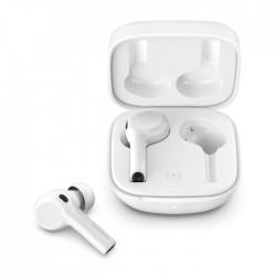 Belkin Soundform Freedom True Wireless Noise Cancellation Earbuds  White open charging case