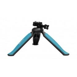 Promate Adjustable Head Lightweight Mini Tripod - Blue