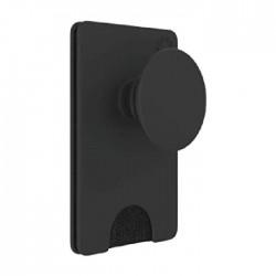 حامل البطاقات قابل للإزالة للهواتف الذكية من بوب واليت+ بيبيلد - أسود (801939)