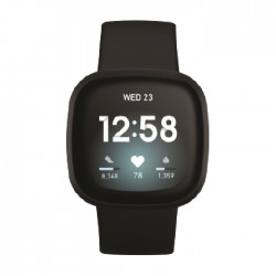 Fitbit Versa 3 Smart Watch - Black