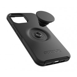 Otterbox iPhone 12 Pro Max Otter  Case with Pop Symmetry Grip - Black