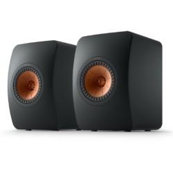 مكبر صوت ميتا بوك شيلف بقوة 100 واط من كيف (LS50) - أسود