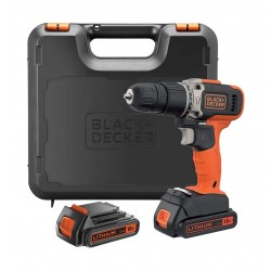 Black+Decker BCD003C2K-GB 18V Combi Drill