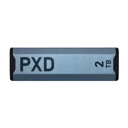 هارد درايف إس إس دي خارجي  باتريوت 2 تيرابايت بي إكس دي المتنقل - يو إس بي 3.2 الجيل الثاني نوع سي