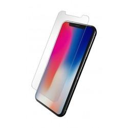 واقي الشاشة الزجاجي أورا لهاتف ايفون إكس - شفاف