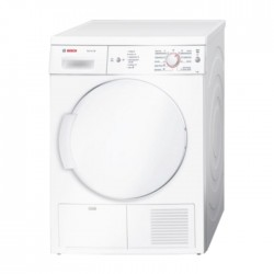 Bosch 7KG Condensor Tumble Dryer - White (WTE84106GC)