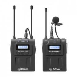 ميكروفون لاسلكي من بويا مع جهاز استقبال وجهاز ارسال - (BY-WM8 PRO-K1)