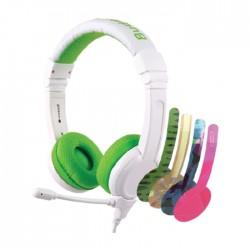 BuddyPhones School+ Wired Green Kids Gaming Headphones in Kuwait | Buy Online – Xcite