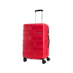 حقيبة بريكلين الصلبة من أميريكان توريستر 80 سم (GE3X80007) - أحمر