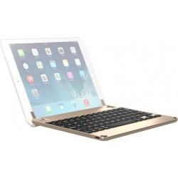 لوحة مفاتيح بتقنية البلوتوث لآيباد ٩,٧ بوصة من بريدج - ذهبي (BRY1013)