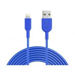 Anker PowerLine II Lightning Cable 3m - Blue