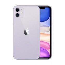 هاتف أبل أيفون ١١ بسعة ٦٤ جيجابايت - بنفسجي