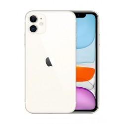 هاتف أبل أيفون ١١ بسعة ٦٤ جيجابايت - أبيض