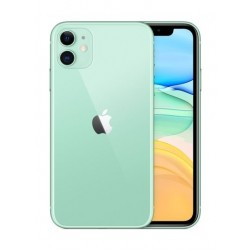 هاتف أبل أيفون ١١ بسعة ١٢٨ جيجابايت - أخضر
