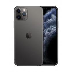 هاتف آيفون ١١ برو ماكس  بسعة ٦٤ جيجابايت - رمادي