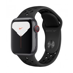Apple Watch Nike Series 5 GPS+Cellular 44mm Grey Aluminum with Black Band