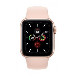 Apple Watch Series 5 GPS 40mm Gold Aluminium Case with Pink Sport Band
