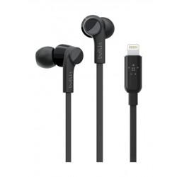 Belkin Rockstar Headphones with Lightning Connector - Black 5