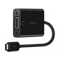 Belkin USB-C to VGA Adapter - F2CU037BTBLK