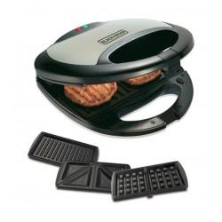 Black & Decker 3-in-1 Sandwich Maker 750W 2Slot - TS2090