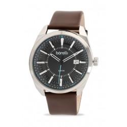 Borelli Classics 44mm Analog Gents Leather Watch - 20053471