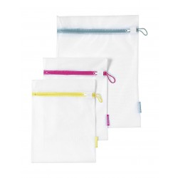 Brabantia Wash Bags, Set of 3 In 2 Sizes