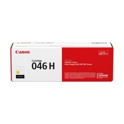 Canon 046H Printer Toner (1251C002AA) - Yellow