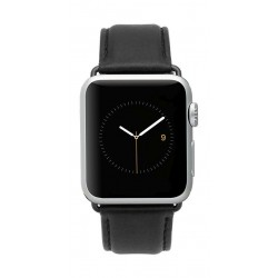 Case Mate Apple Watch 42mm Watch Band - Black Leather