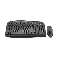 EQ Keyboard and Mouse Combo - Black