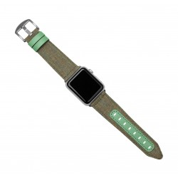 Evutec Northill Watch Band for Apple Watch 42mm - Chroma Sage 2