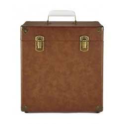 GPO Vinyl Record Case - Brown