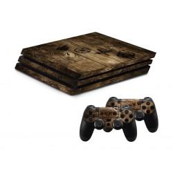 Hama PlayStation 4 Pro Skin - Wood Edition 1