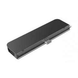 HyperDrive 6-in-1 USB-C iPad Hub - Grey