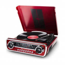 ION Mustang LP 4-in-1 Classic Car-Styled Music Center