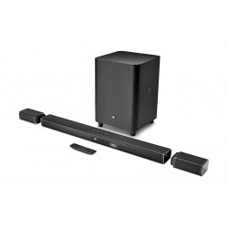JBL Bar 5.1 4K Ultra HD 5.1-Channel Soundbar with True Wireless Surround Speakers2